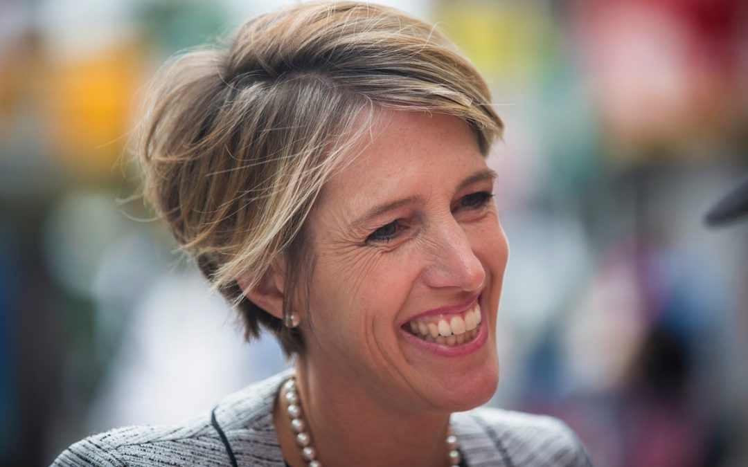 Zephyr Teachout's ultrasound stars in her new campaign ad.