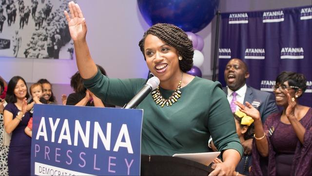 Ayanna Pressley Upsets Capuano in Massachusetts House Race (07).