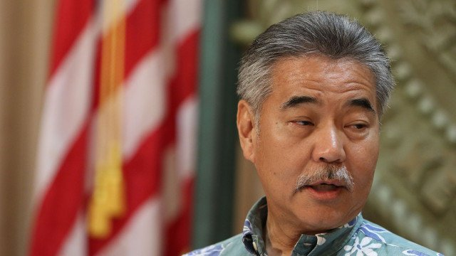 Hawaii Gov. David Ige Sworn in for a Second Term.